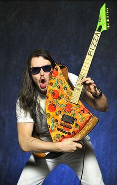 Pizza Guitar, Andrew W.K.'s Custom Pizza Slice Electric Guitar