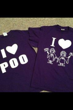 TSU and PURPLE POO :)