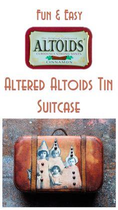 Altered Altoids Tin - Fun!