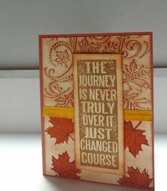 Fall Inspiration Card!
