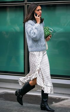 If you've suddenly become obsessed with polka dots, see these amazing outfit ideas that prove that this print is cooler than ever.