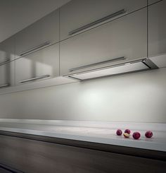Elica Hidden extractor fan. Double wall cupboards