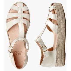 VANILLA Patent Plateau Sandal