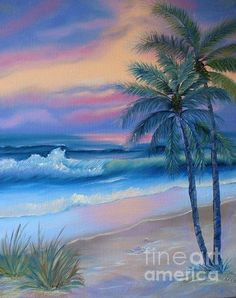 Seascape Collection II Painting by E Luiza Picciano