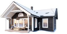Scandinavian Modern, Home Fashion, Conservatory, House Plans, House Ideas, Farmhouse, Cabin, How To Plan, Architecture
