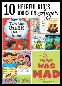 Do you have a toddler who is experiencing the terrible twos…or threes? …an older child whose behavior is getting to be unmanageable? Not sure where to start at bringing peace back into your home? Here are some tips on how to calm your child's aggression, along with 10 helpful books to help discourage anger. Toddler Books, Toddler Anger, Childrens Books, Kid Books, Books To Read, Terrible Twos, Terrible Threes, Kids Behavior, Toddler Behavior Problems