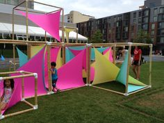 Play and Art in Boston, 2015 #playday #LawnonD - Playscapes