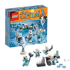 Lego 70230 - Legends of Chima Eisbärstamm-Set Lego http://www.amazon.de/dp/B00NGJNXQK/ref=cm_sw_r_pi_dp_uXeMub01SXDEH