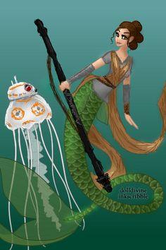 Mer-Rey by 2BlueWizards ~ Modified Dolls Dress Up