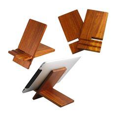 Wood stand for ipad / ipad2 / P1000 (US-WC02) - China ipad stand, U-Shine