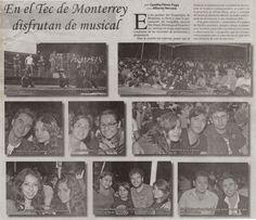 En el Tecnológico de Monterrey se llevó a cabo la presentación del ensamble musical The Happy Bluenergical Experience.