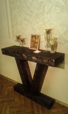 Elegant Tall Hallway Table
