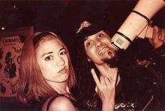 Lollapalooza! Miki Berenyi (Lush) and Al Jourgensen (Ministry).