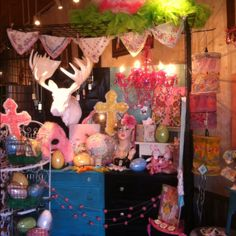 Easter display at A Rosy Outlook