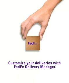 Sign for packages remotely. Request a different location and schedule delivery time. All with FedEx Delivery Manager. Terms, conditions, and some fees… – Money Management