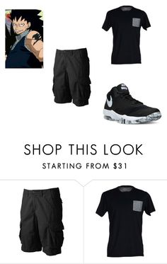 """""""Gajeel Redfox #2"""" by kaylenfernandes on Polyvore featuring interior, interiors, interior design, home, home decor, interior decorating, Urban Pipeline, SELECTED and NIKE"""