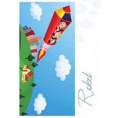 Dywanik podłogowy Roket 99X170