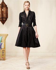 Ralph Lauren Collection Silk Nairobi Shirtdress available for $1919.99