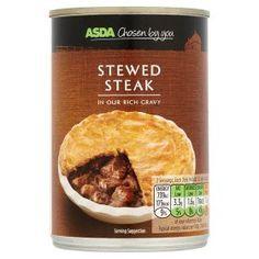 Asda Chosen By You Stewed Steak Slimming World Stew Slimming World Free Foods Canned Food