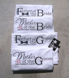 MotheroftheBrideFatheroftheBrideMotherbyTheKnottedPalm$19.95 #fatherofthebrideoutfit #father #of #the #bride #outfit Wedding Gifts For Parents, Unique Wedding Gifts, Gifts For Wedding Party, Mother And Father, Mother Of The Bride, Father Of The Bride Outfit, Groom Ties, Bride Groom, Dream Wedding