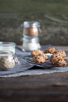 Hafer Frühstückskekse mit Dattelsüße statt Zucker