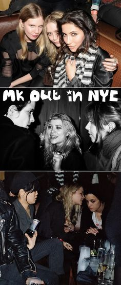 Mary-Kate Olsen partying in New York City. #style #fashion #olsentwins