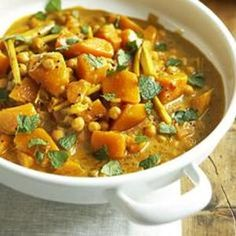 Pumpkin Curry With Chickpeas