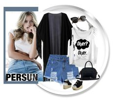 """PERSUN"" by b-mila ❤ liked on Polyvore featuring GUESS"