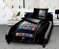 Posteľné obliečky Mobil