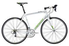 Merida Ride 88 Road Bike, Alloy Frame / Carbon Fork, White / Green - XXS / 44cm