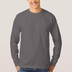 Men's Basic Long Sleeve T-Shirt SMOKE GREY