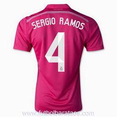 Nueva camiseta de Sergio Ramos 2nd Real Madrid 2015