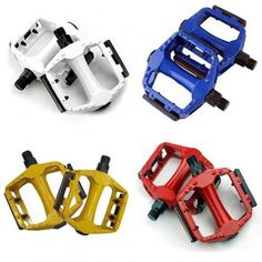 4 Colors Cycling Bike Bicycle Aluminum Alloy Bearing Pedals