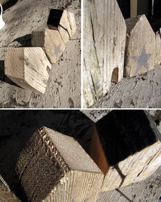 * s a n d r a c a l e f f i * wood houses