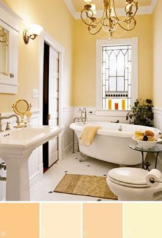 Benjamin Moore paint colors- This color yellow just makes me feel happy