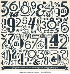 retro new years typography - Google Search