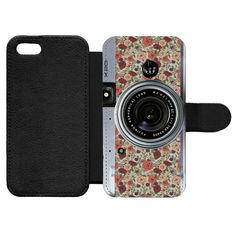 Floral Camera for iPhone 7 Wallet Case iPhone 7 by CasematicUS