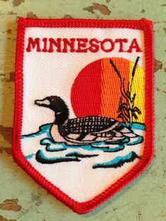 Minnesota Vintage Travel Patch by HeydayRetroMart on Etsy, $6.50