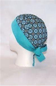 Resultado de imagen de Bouffant Surgical Scrub Hat Sewing Pattern Free Instructions