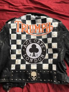 Schott Perfecto Jacket Custom Rocker Deluxe Punk Rock  | eBay