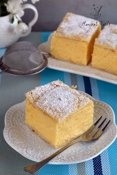 Sweet Recipes, Cake Recipes, Dessert Recipes, Serbian Recipes, Torte Cake, Good Food, Yummy Food, Cookie Dough, Vanilla Cake