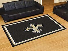 New Orleans Saints 5x8 Rug