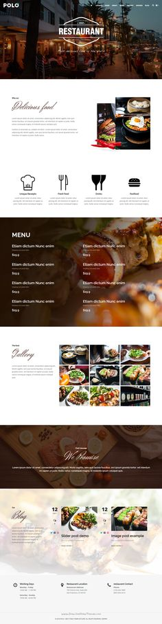Polo is powerful premium #WordPress theme with 120+ homepage layouts for multipurpose #cafe #restaurant website. Download Now➝ https://themeforest.net/item/polo-responsive-multipurpose-wordpress-theme/16078535?ref=Datasata