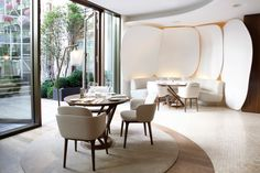 mandarin oriental hotel' by jouin manku studio in collaboration with patrick jouin ID located in paris, france