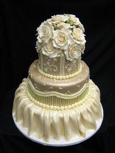 Modern Wedding Cakes   Freed's Bakery Las Vegas  