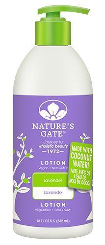 Nature's Gate Lotion - Lavender