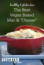 The Best Vegan Baked Mac and Cheese Recipe - healthy, vegan, gluten ...