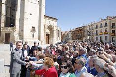 Los Reyes Felipe VI y Letizia, entregan en la Catedral de Palencia los Premios Nacionales de Cultura.  01-06-2016