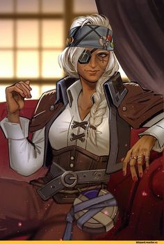 Ana Amari,Overwatch,Blizzard,Blizzard Entertainment,фэндомы,Overwatch art