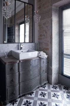 Check out more design ideas and flooring options at www.carolinawholesalefloors.com or on our Facebook! Lovely tiles in the bathroom